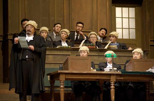 阿加莎 克里斯蒂经典法庭大戏 原告证人 亮相首都剧场