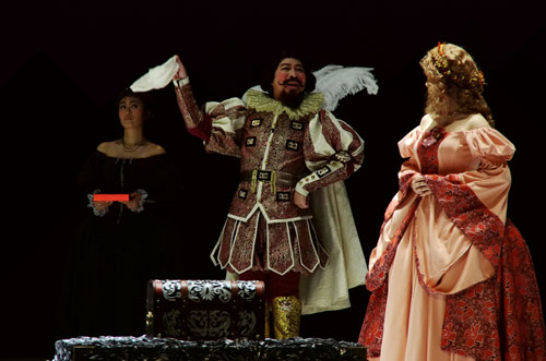 《威尼斯商人》着力人性冲突 展现古典戏剧魅