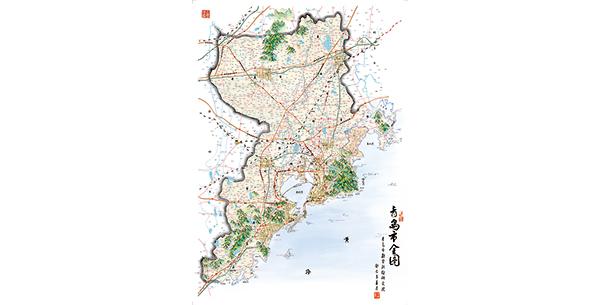 """青岛勘测院在地图上""""蹚""""出的这条文化创意路,或许可以给人诸多启发."""