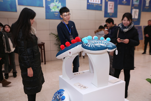 2017北京非物质文化遗产创意设计大赛闭幕展在京举办梦幻倚天