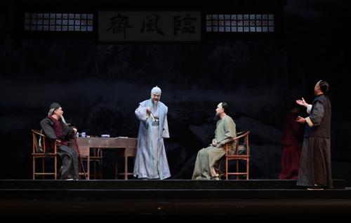 话剧《西山烟雨》首演顾威:在京腔京韵中感受家国情怀
