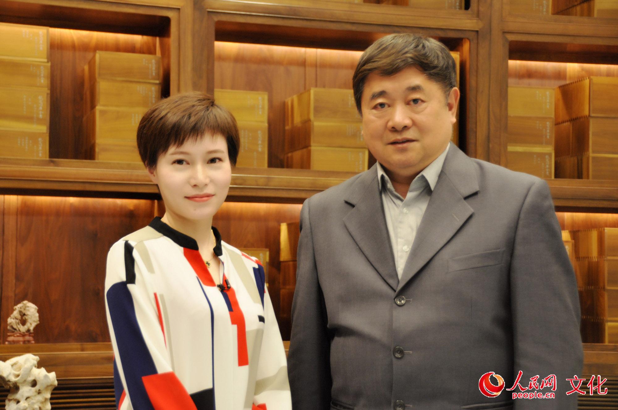 记者手记丨对话单霁翔:我不是'段子手',我是讲故事的人