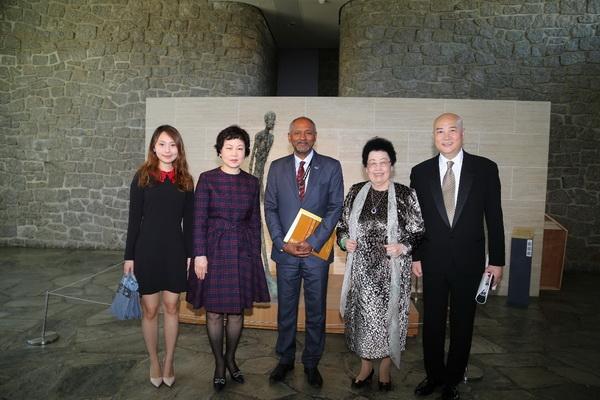 中国紫檀博物馆陈丽华馆长一行应邀出席联合国教科文组织合作伙伴峰会tpm是什么意思