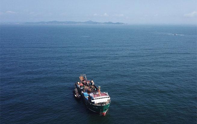 """重大发现!大连发现甲午海战北洋水师沉舰""""经远舰"""""""