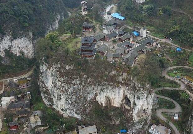 """""""中国传统村落""""贵州织金营上古寨"""