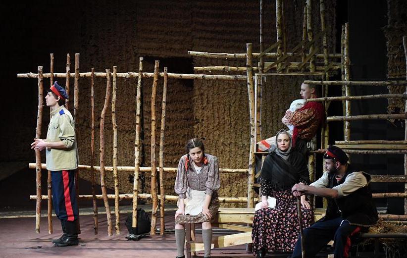 话剧《静静的顿河》在哈尔滨上演