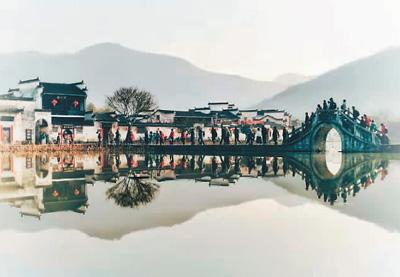 中国55处世界遗产图片展在京举办
