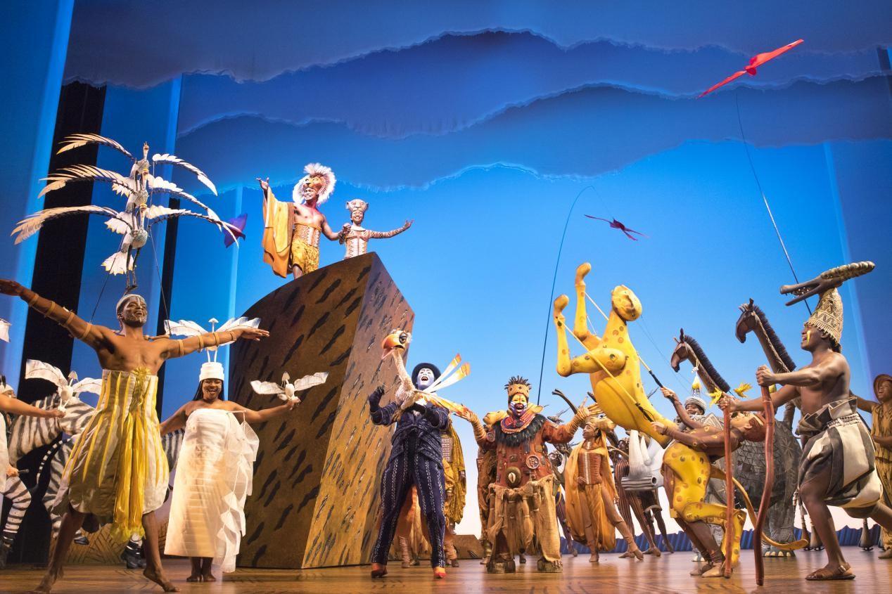 百老汇经典音乐剧《狮子王》将