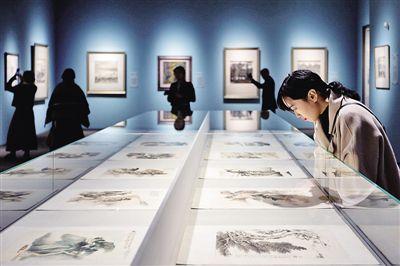二十世纪中国画大家展亮相南京