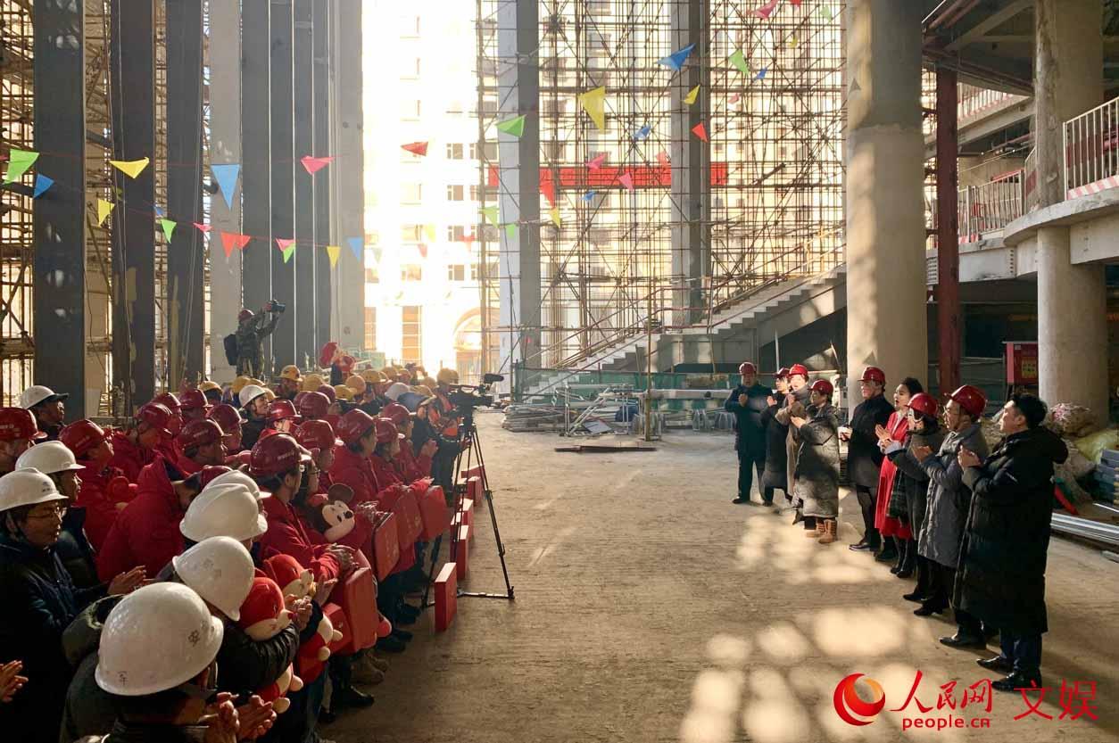中央歌剧院新春慰问演出 用歌声送去祝福