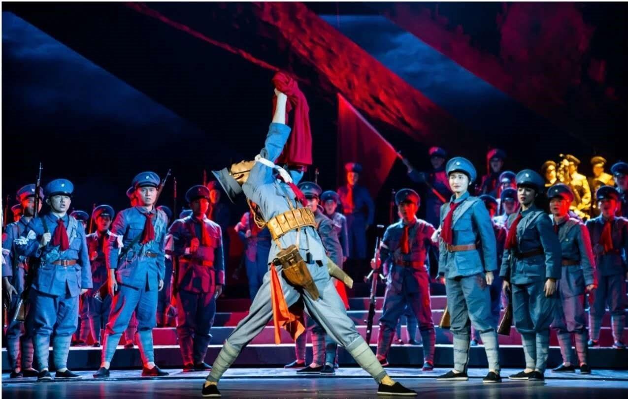 大型原创民族歌剧《血色三河》在