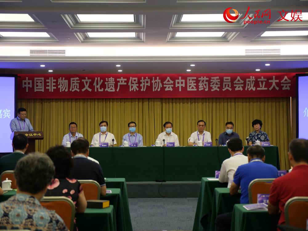 给力!中国非物质文化遗产保护协会中医药委员会成立