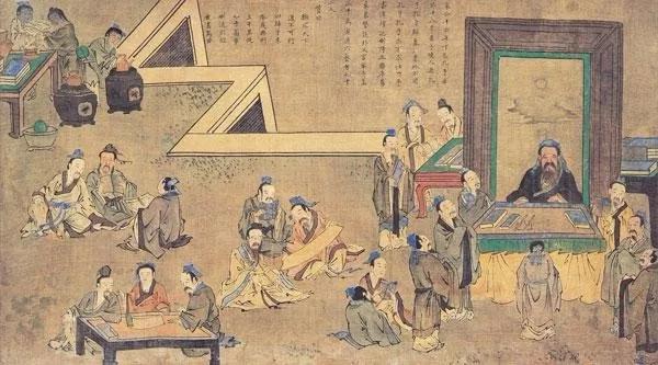 除了孔子,历朝历代还有不少名师受到追捧和欢迎
