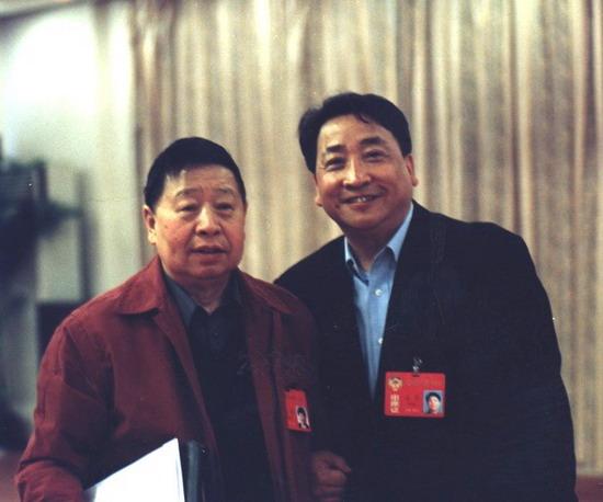 马季与姜昆同为政协委员