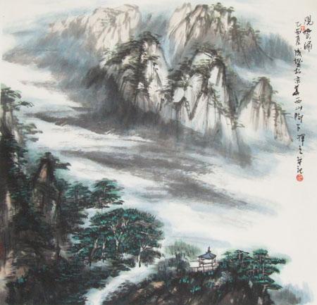 成城山水花鸟画展