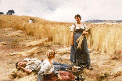 萊爾米特的《聖佩爾山的割麥人 ...