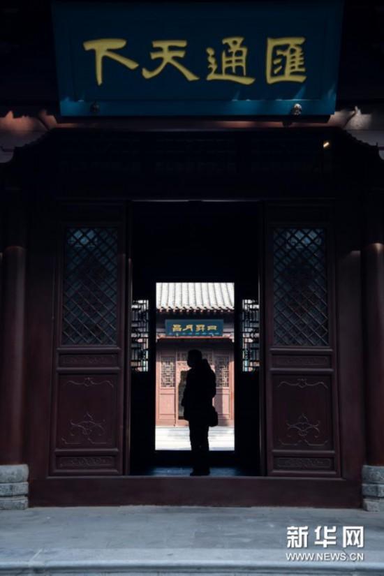 晋商博物院对外开放沉香豌 步微澜